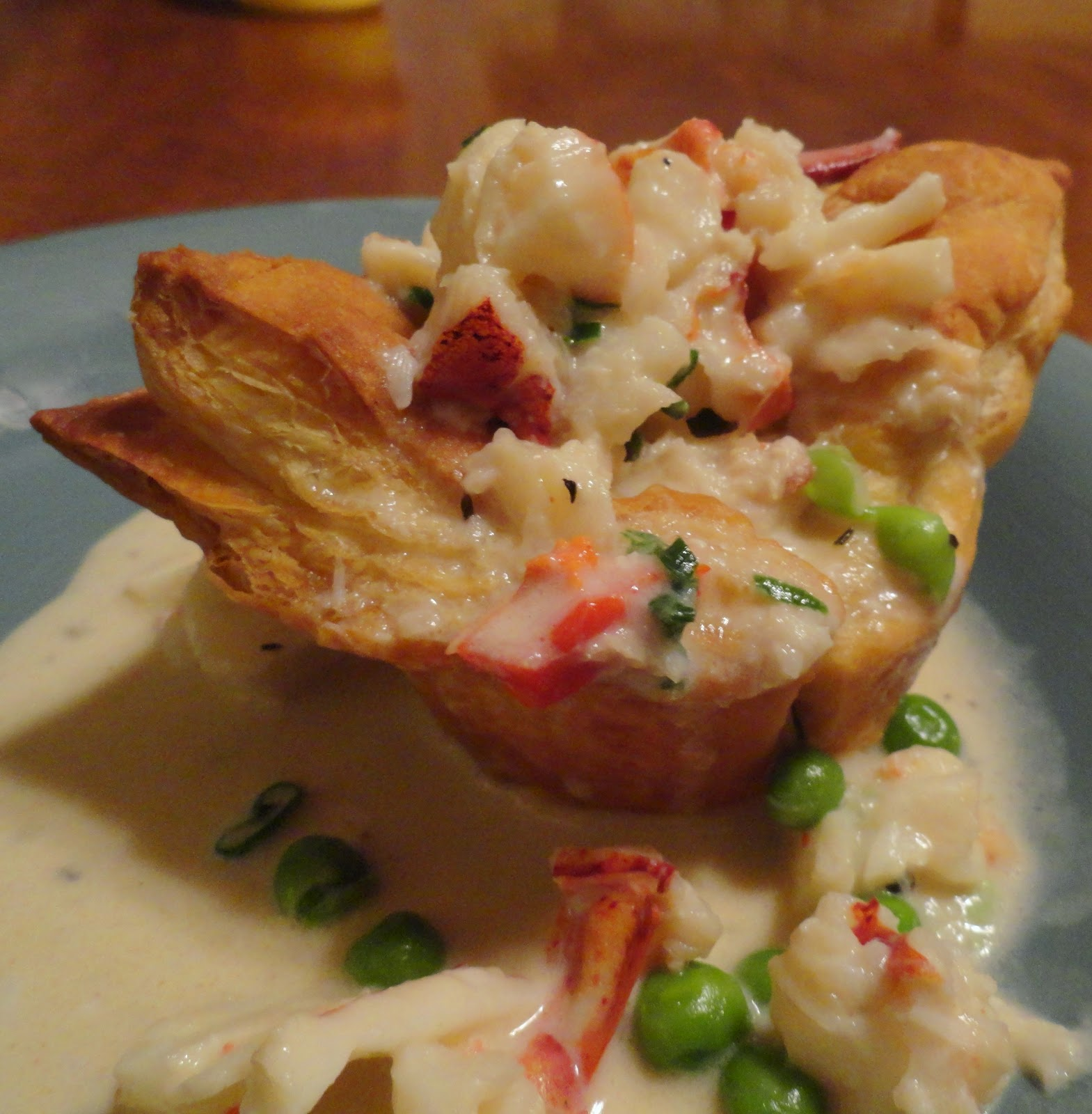 Couple in the Kitchen: Mini Upside-Down Lobster Pot Pies, or ...