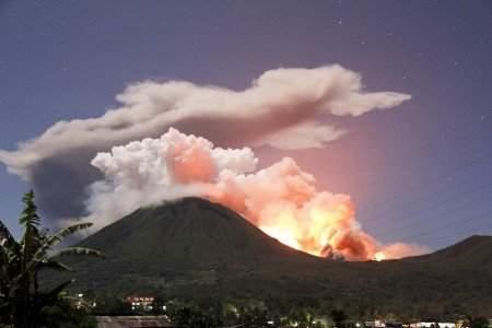 Eruption G.Lokon
