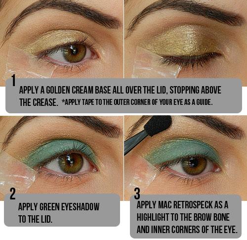 Tutorial de maquiagem olho castanho 2