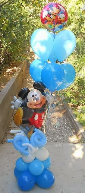 μπαλονια mickey minnie