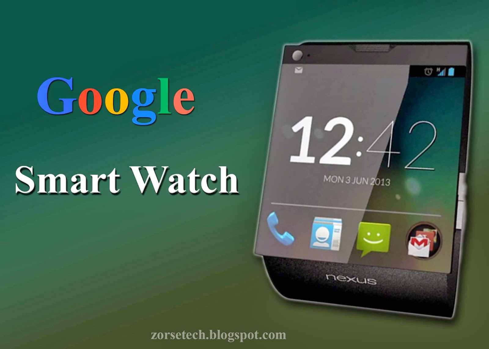 google latest smart watch specification