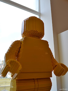 legoman made of lego