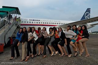 Foto Pesawat Sukhoi SuperJet 100