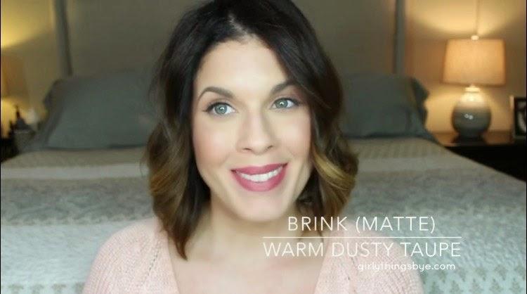 Colour Pop Lippie Stix, Brink, Swatch, @girlythingsby_e