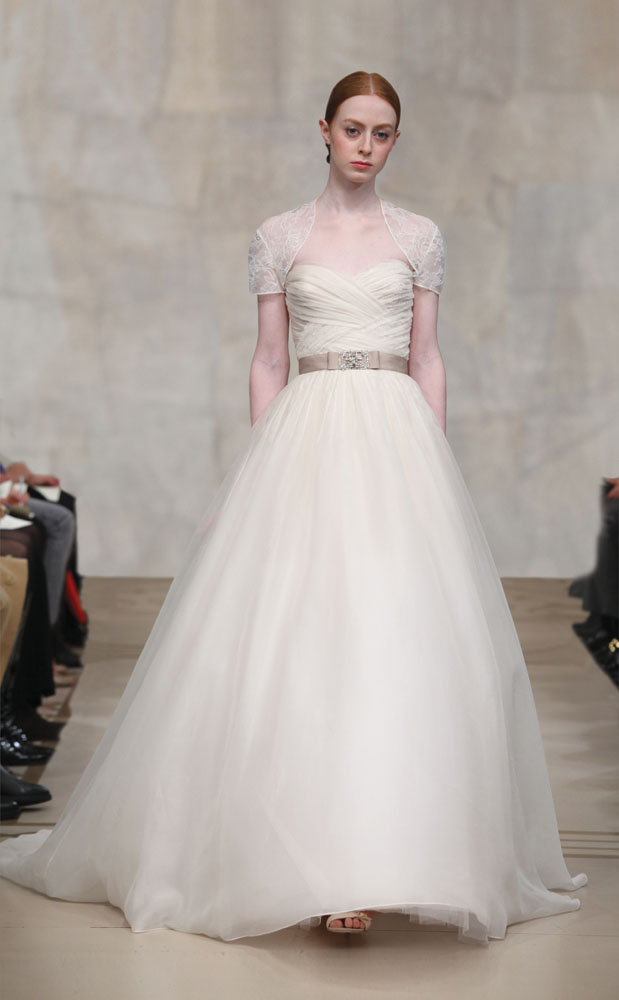 reem acra silk organza wedding dress reem acra tulle wedding dress