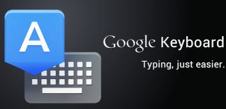 Google Stock Keyboard App for Android Devices