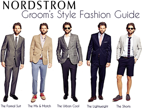 grooms guide wedding style