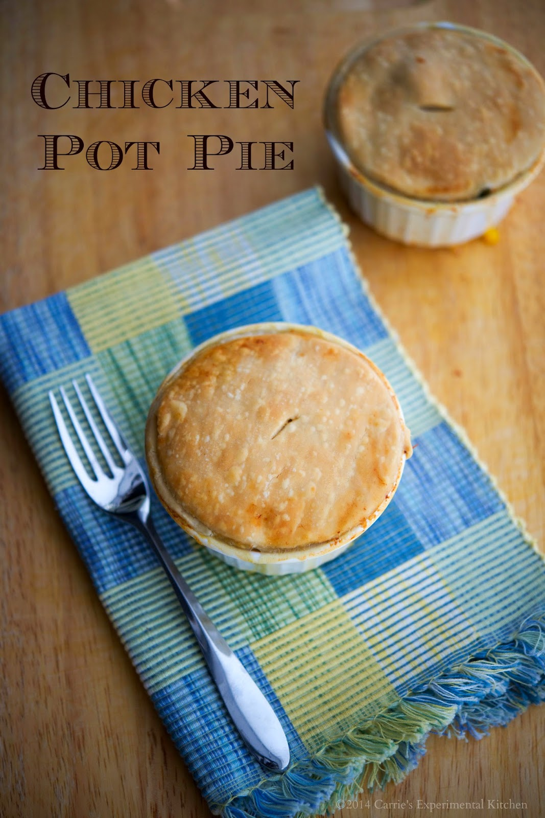 Carrie's Experimental Kitchen: Individual Chicken Pot Pie