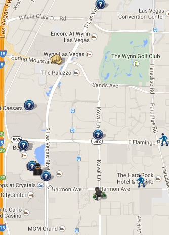 Las Vegas NV SpotCrime Map SpotCrime The Publics Crime Map - Las vegas map nevada
