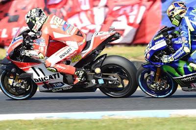 Pernat: Iannone Sangat Senang Bisa Asapi Valentino Rossi
