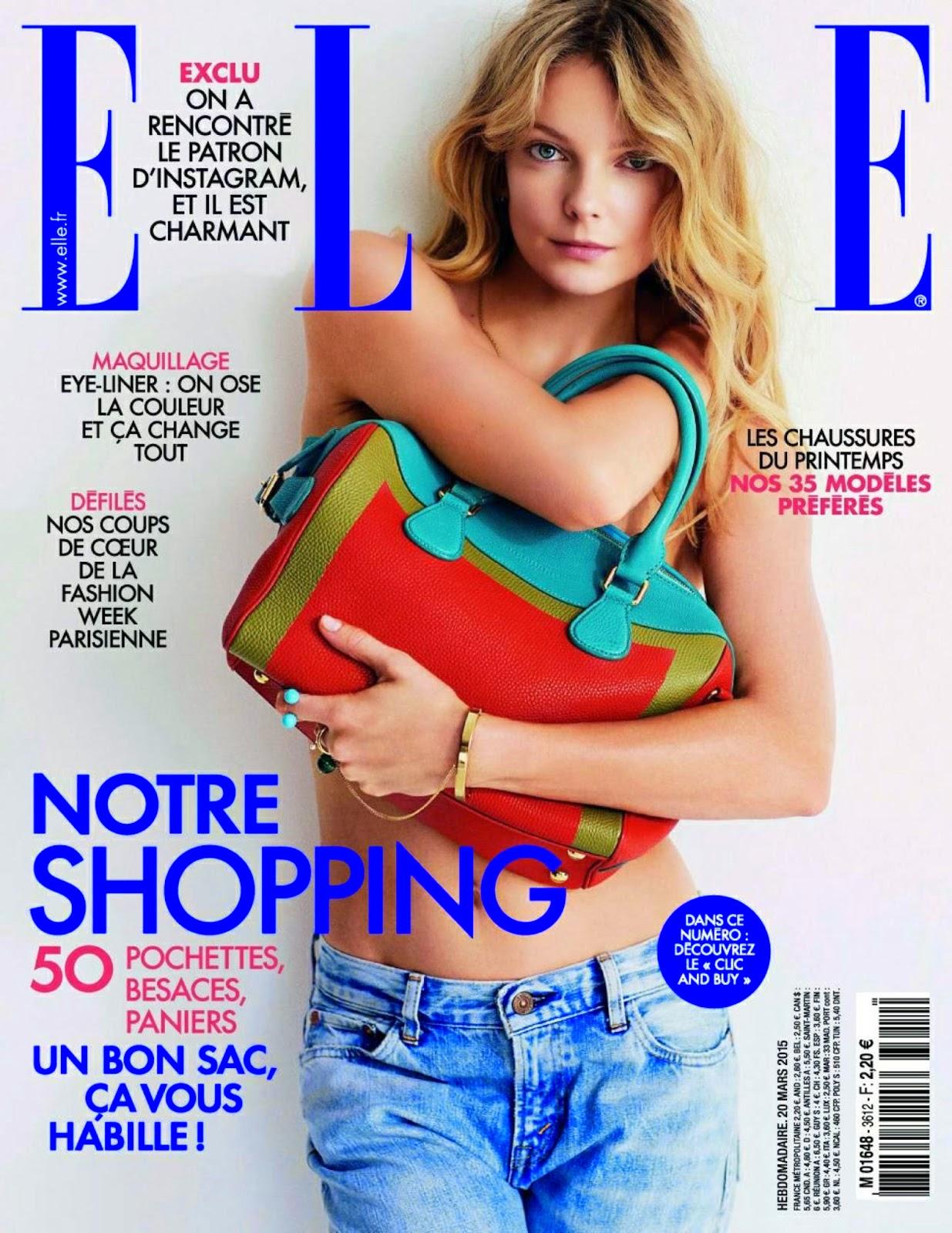 Fashion Model @ Eniko Mihalik by Matt Jones for ELLE France March 2015