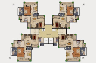 34 Pavilion :: Floor Plans,Aristo:-