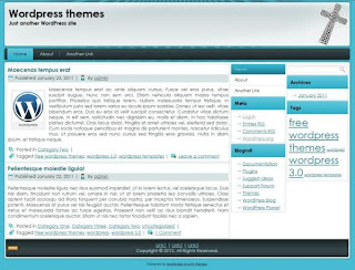wordpress theme for church website