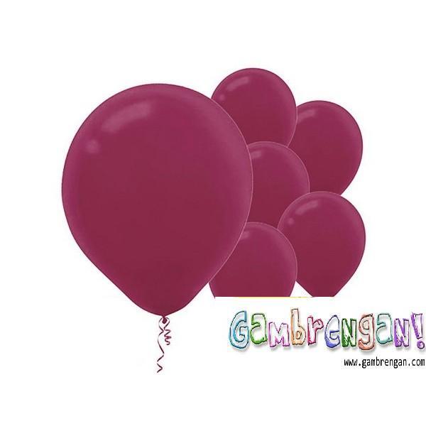 Balon Dekorasi Ungu Tua