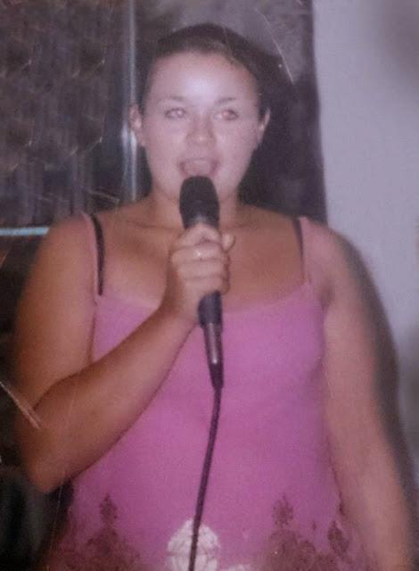 Krystina Butel before the surgery