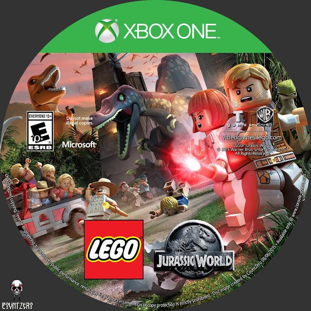 Label LEGO Jurassic World Xbox One