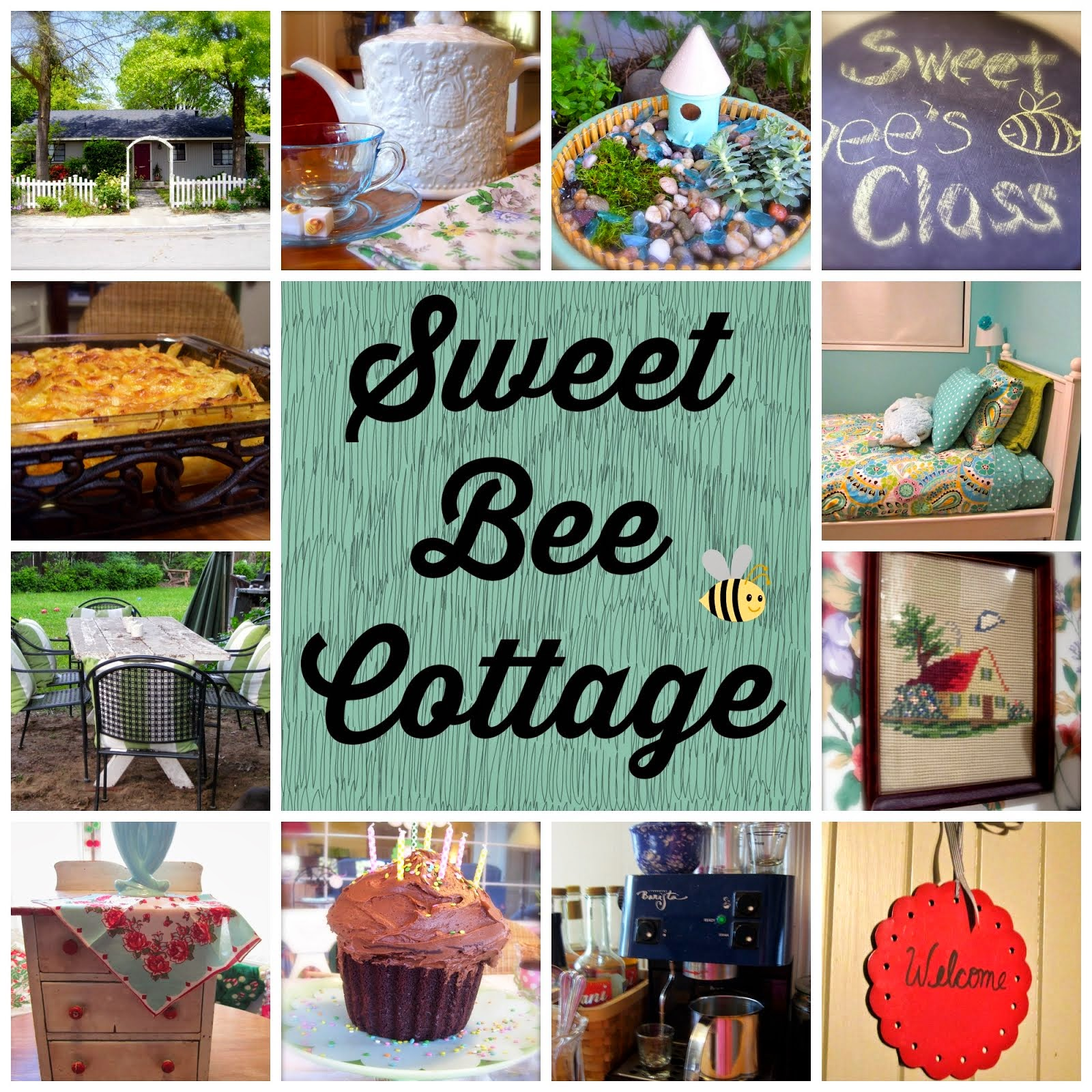 Sweet Bee Cottage on Facebook