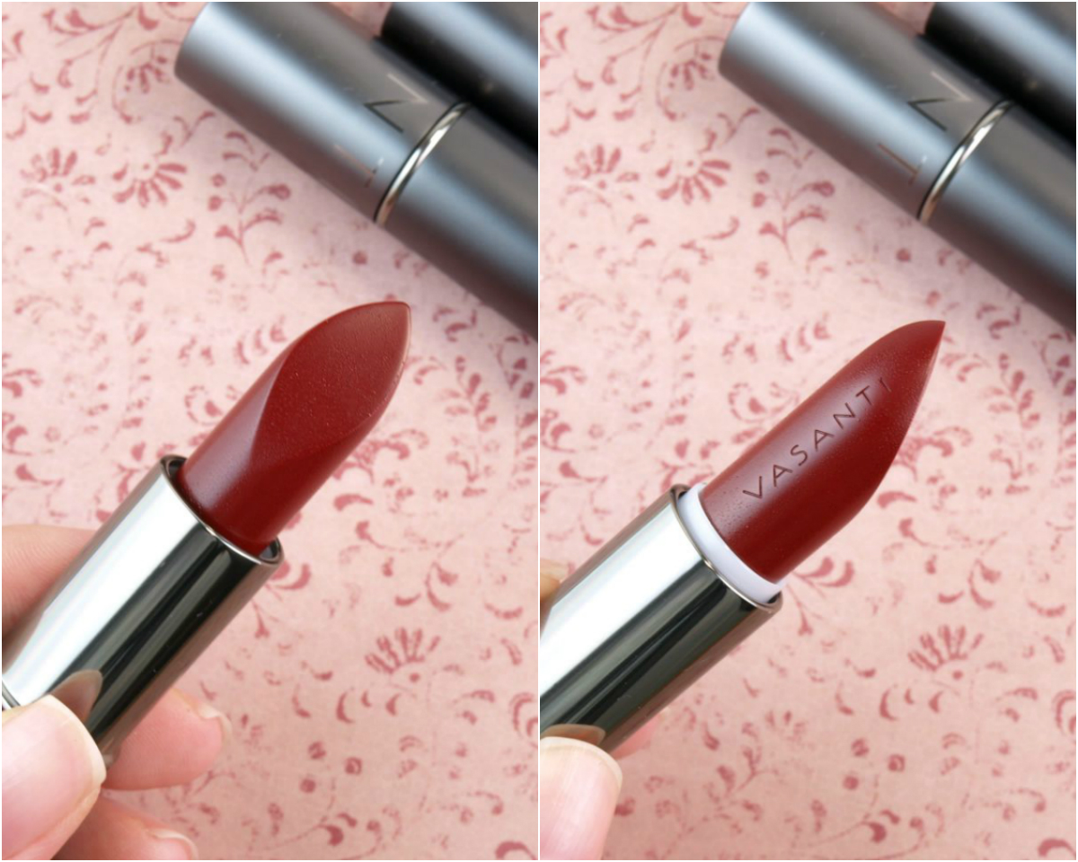 Vasanti Love Brights Gel Matte Lipstick: Review and Swatches