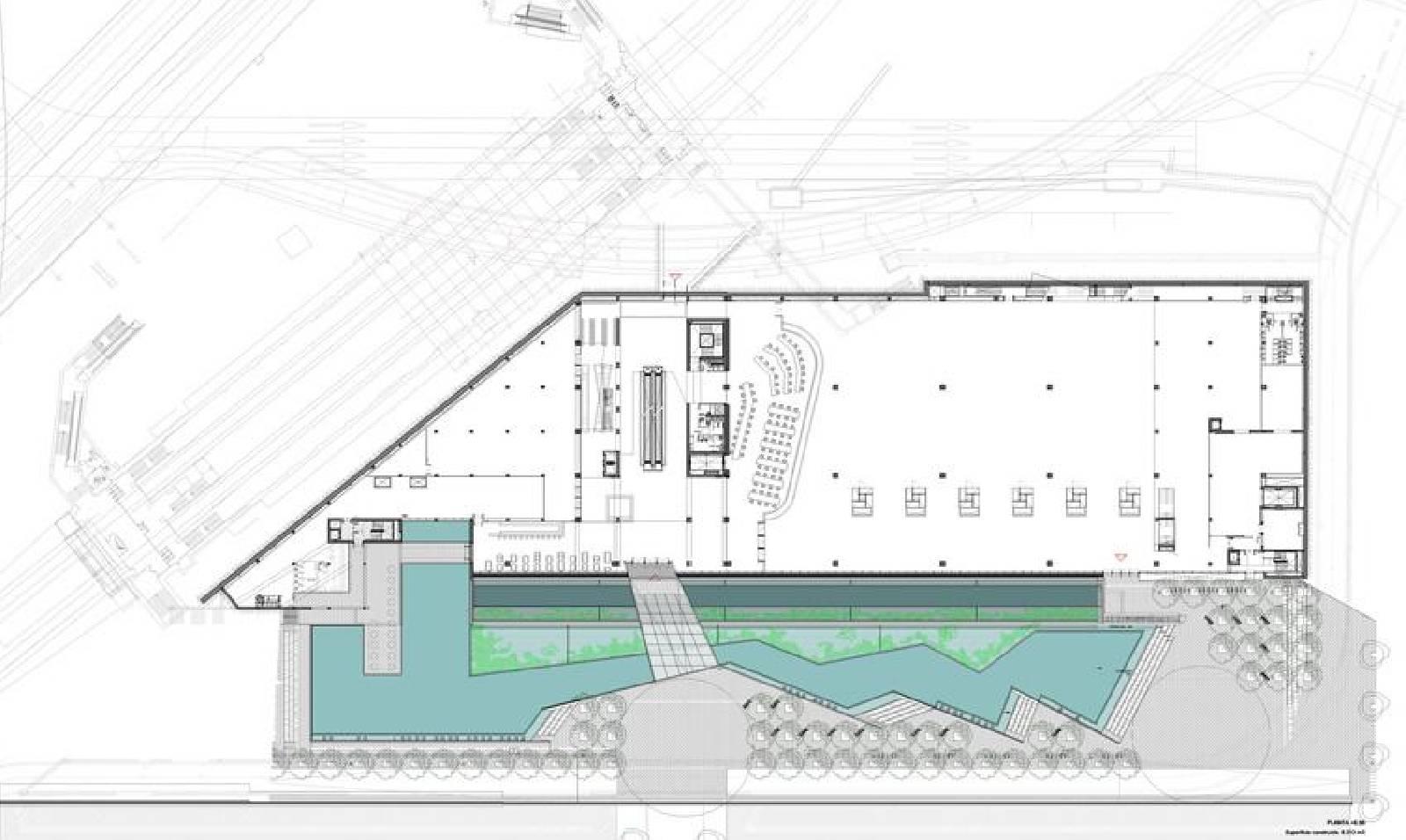 100 Barcelona Pavilion Floor Plan Dimensions  : DHUBdesignmuseumbarcelonabyMBMarquitectes17 from verdantstudios.com size 1600 x 956 jpeg 135kB
