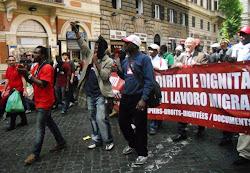 Braccianti d'Africa a Roma
