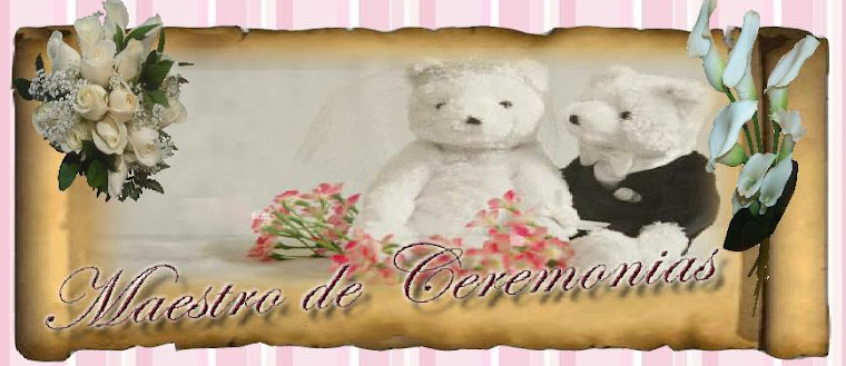 MAESTRA DE CEREMONIA