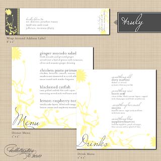 diy printable vintage floral wedding reception stationery