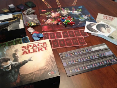 Space Alert setup to play