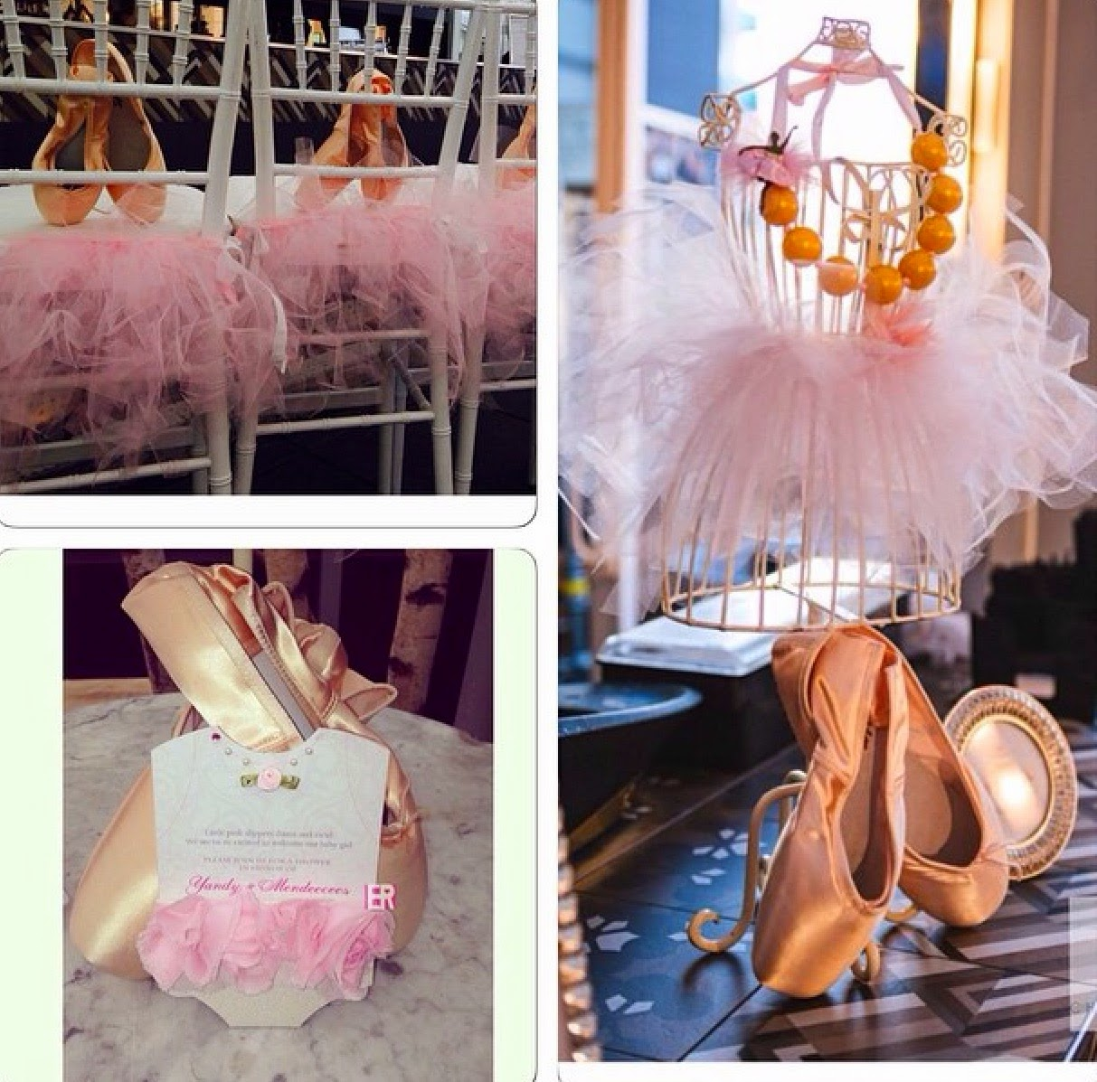 Yandy Smith Ballerina Themed Baby Shower