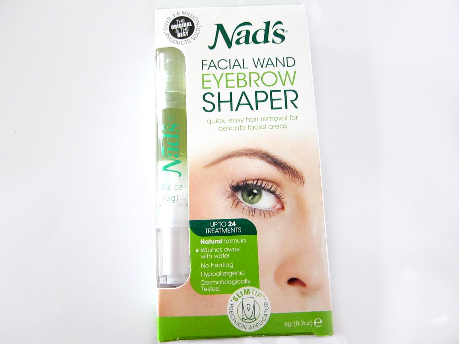 Nads Facial Wand Eyebrow Shaper Review Nad S Facial Wand