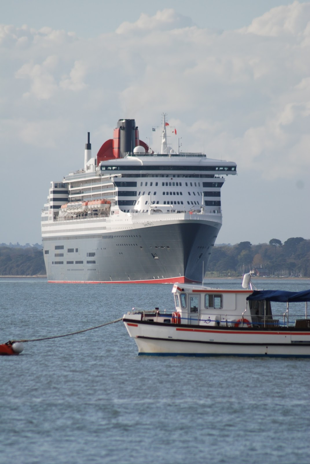 Queen Mary 2 January 2013