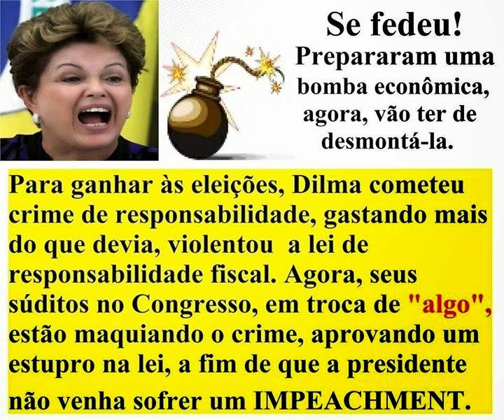 A PRESIDENTE DO BRASIL UMA ASSALTANTE