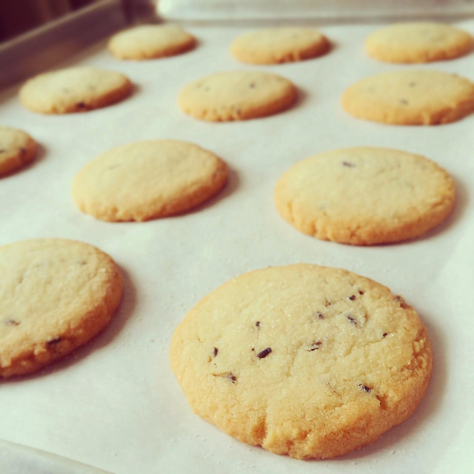 Art of Dessert: Lemon and Lavender Shortbread Cookies