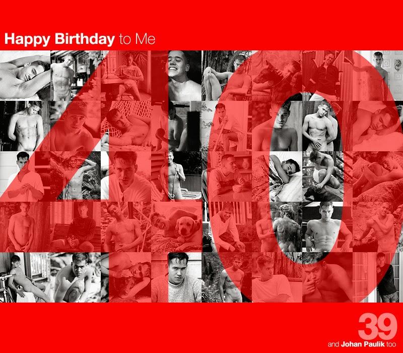 it's my (40th) birthday