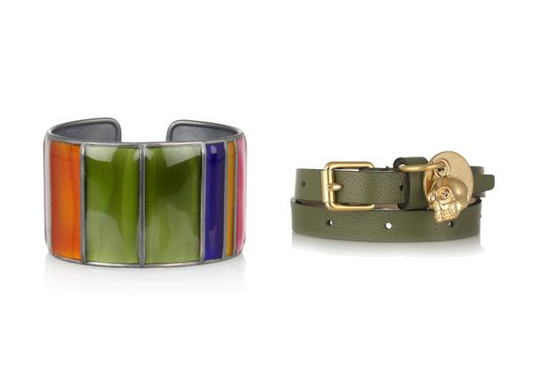 Bracelets/Bracciali Bottega Veneta, Marc Jacobs