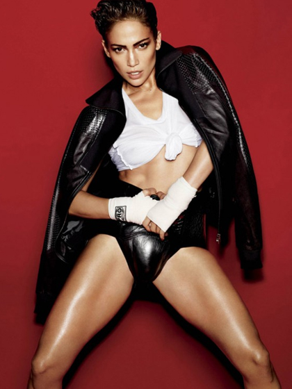 Jennifer Lopez photos pour V Magazine