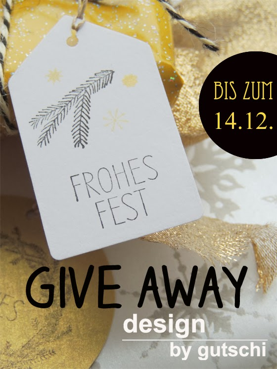 Give Away bei design by gutschi
