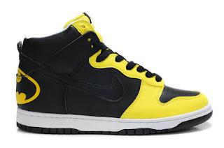 Batman Shoes Nike High Tops