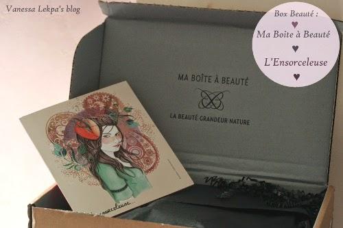 spoilers box beauté : ma boîte à beauté Octobre L'Ensorceleuse carla cartagena