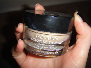Revlon colorstay, whipped foundation, revlon foundation, colorstay whipped,  swatches colorstay, colorstay whipped swatches