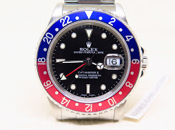 ROLEX GMT MASTER II PEPSI BEZEL - ROLEX 16710 - MINTS CONDITION
