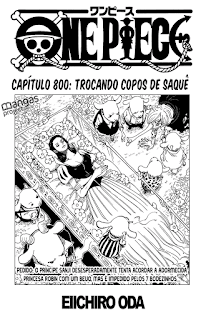 One Piece 800 Mangá - Português
