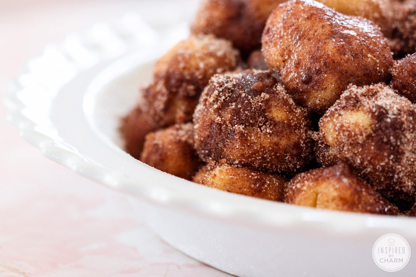 Cinnamon Bun Bites - Inspired by Charm