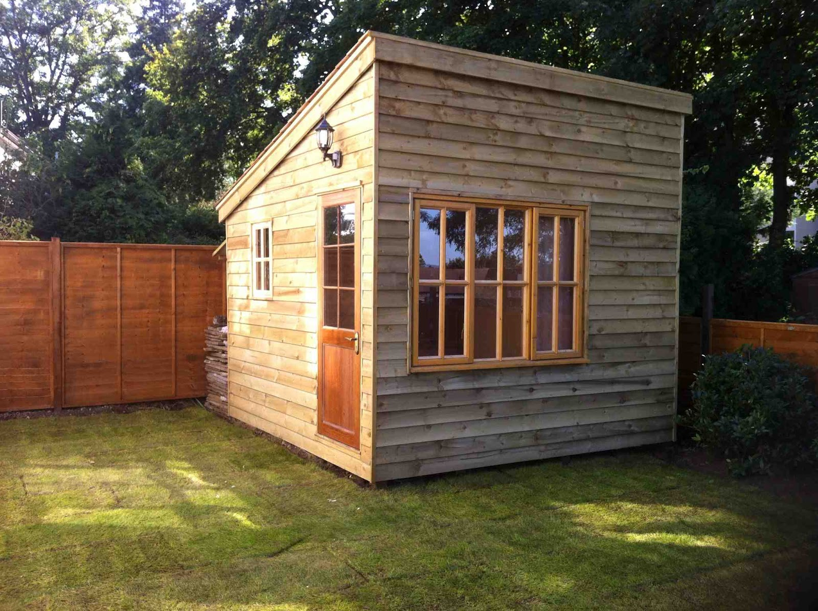 The way of improvement leads home building an office shed for Outside office shed