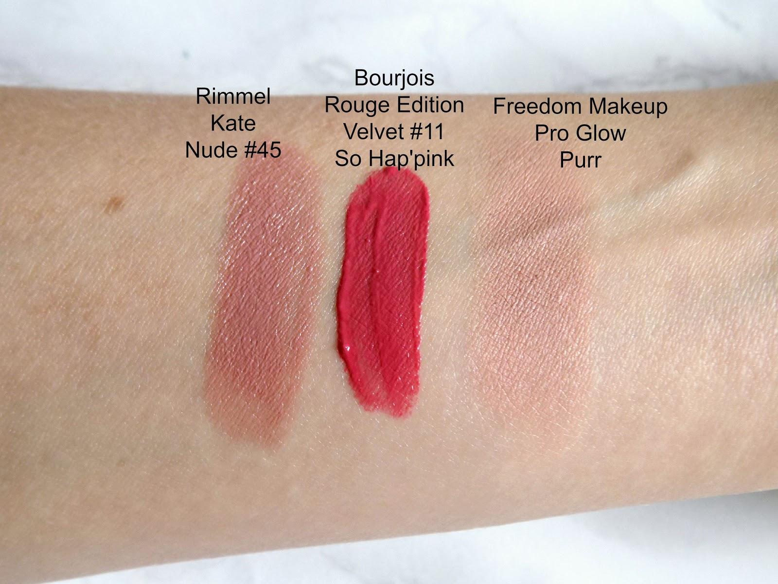 Rimmel Longlasting Lipstick Kate Nude 45