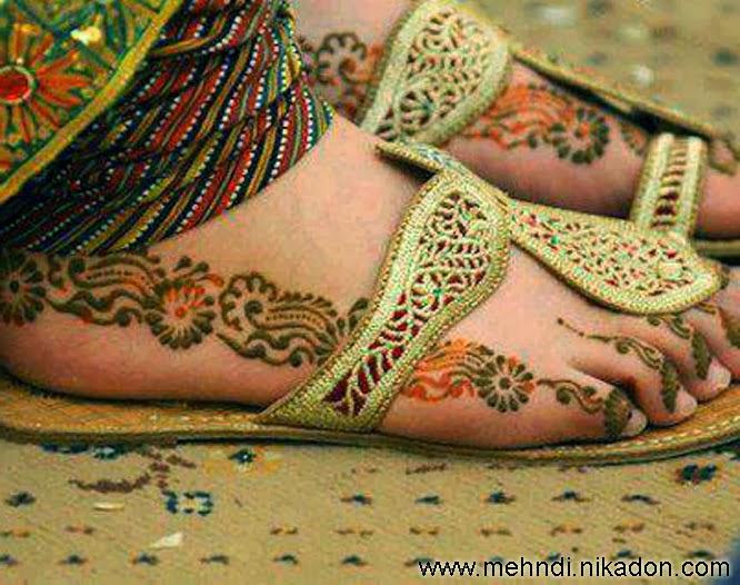 Foot Mehndi Wallpaper : Beautiful wallpapers most viewed feet mehndi designs