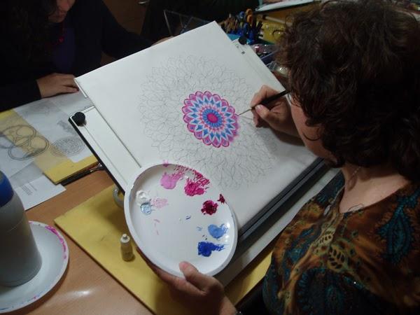 arte terapia con mandalas