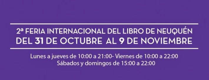 2º Feria del libro de Neuquén