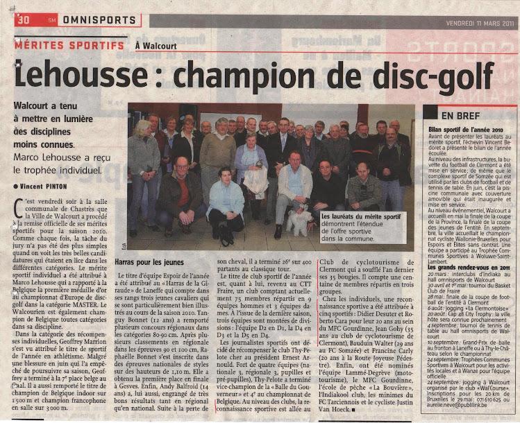 Mérite Sportif 2011