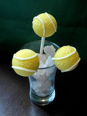 Tennis Ball Cake Pops Recipe