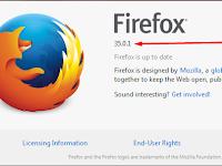 Update Mozilla Firefox Terbaru Versi 35.1